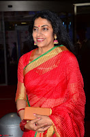 Suhasini in Designer dark Red Saree at 64th Jio Filmfare Awards South ~  Exclusive 008.JPG