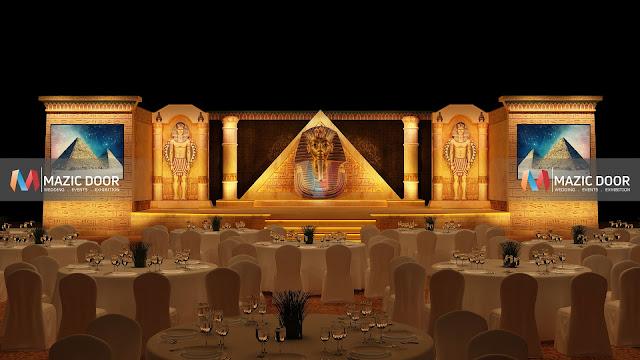 Egyptian Theme Stage Design 01