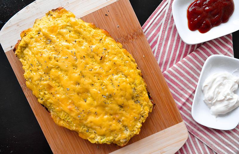 Ninguém vai acreditar que você só usou couve-flor + queijo pra preparar essa delicia!