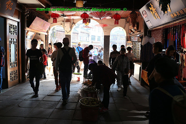 Interior, Rainbow Hongqiao Bridge, Phoenix Fenghuang County, Hunan, China