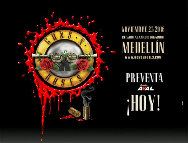 Guns N' Roses-colombia
