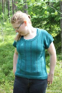 Hemp+Modal+Cotton sweater knitted by DesignKatrina.se
