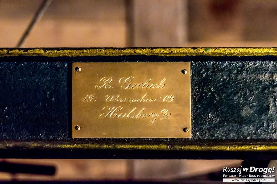 Perełka we Fromborku - zegar wieżowy z 1908 roku