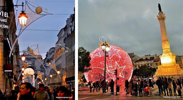 Decoração de Natal em Lisboa, Portugal