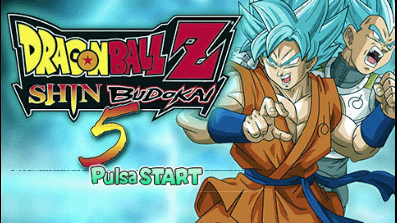 Dragon Ball Z - Shin Budokai 5 Mod (Español) PPSSPP ISO