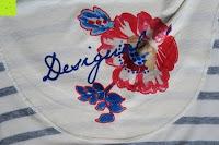 Muster Logo: Desigual Damen T-Shirt Elsa
