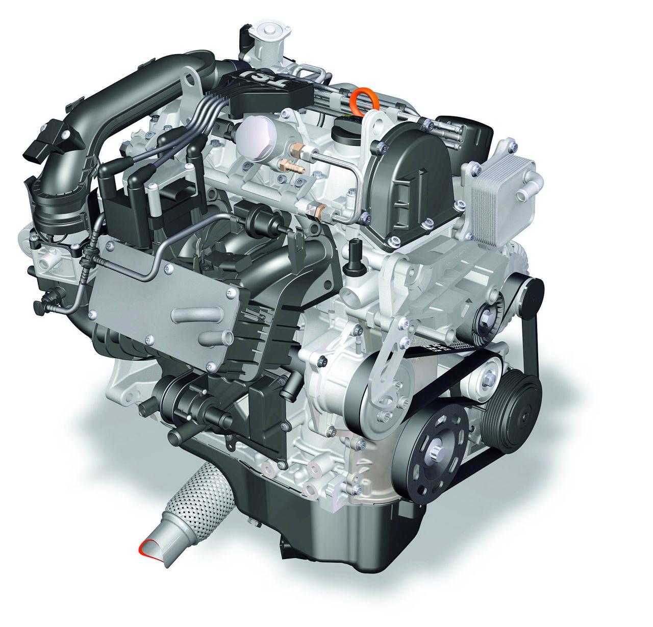 Quattro cilindri 1.4 TSI twincharged Volkswagen addio