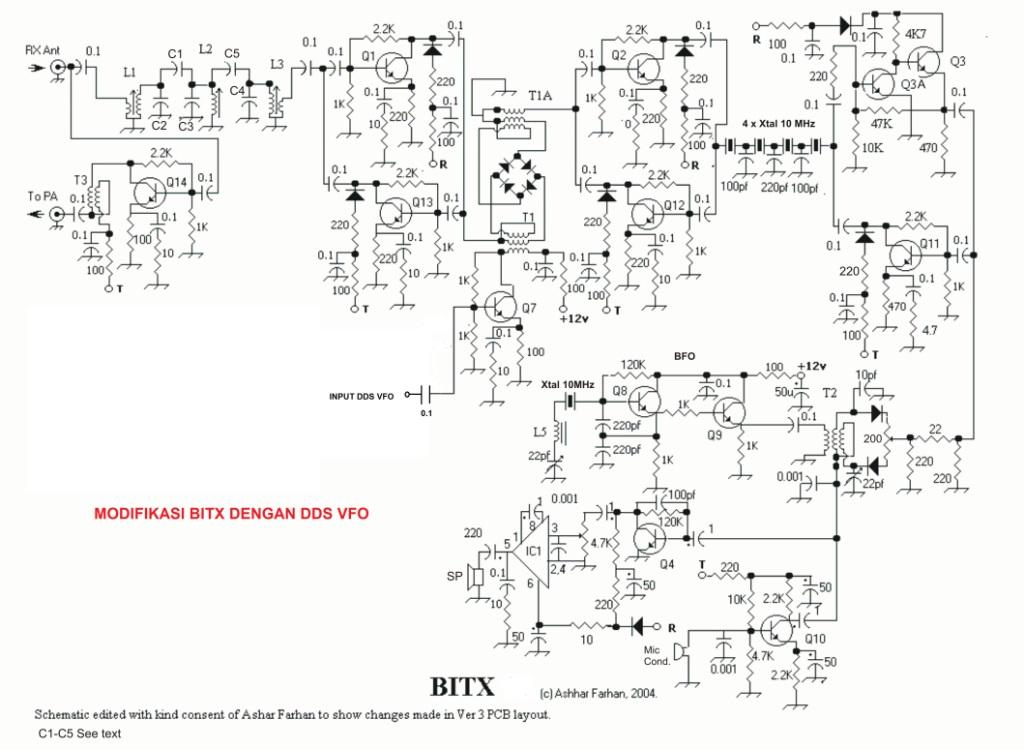 MEMASANG DAN MEMBUAT DDS VFO PADA BITX ~ YC3LVX