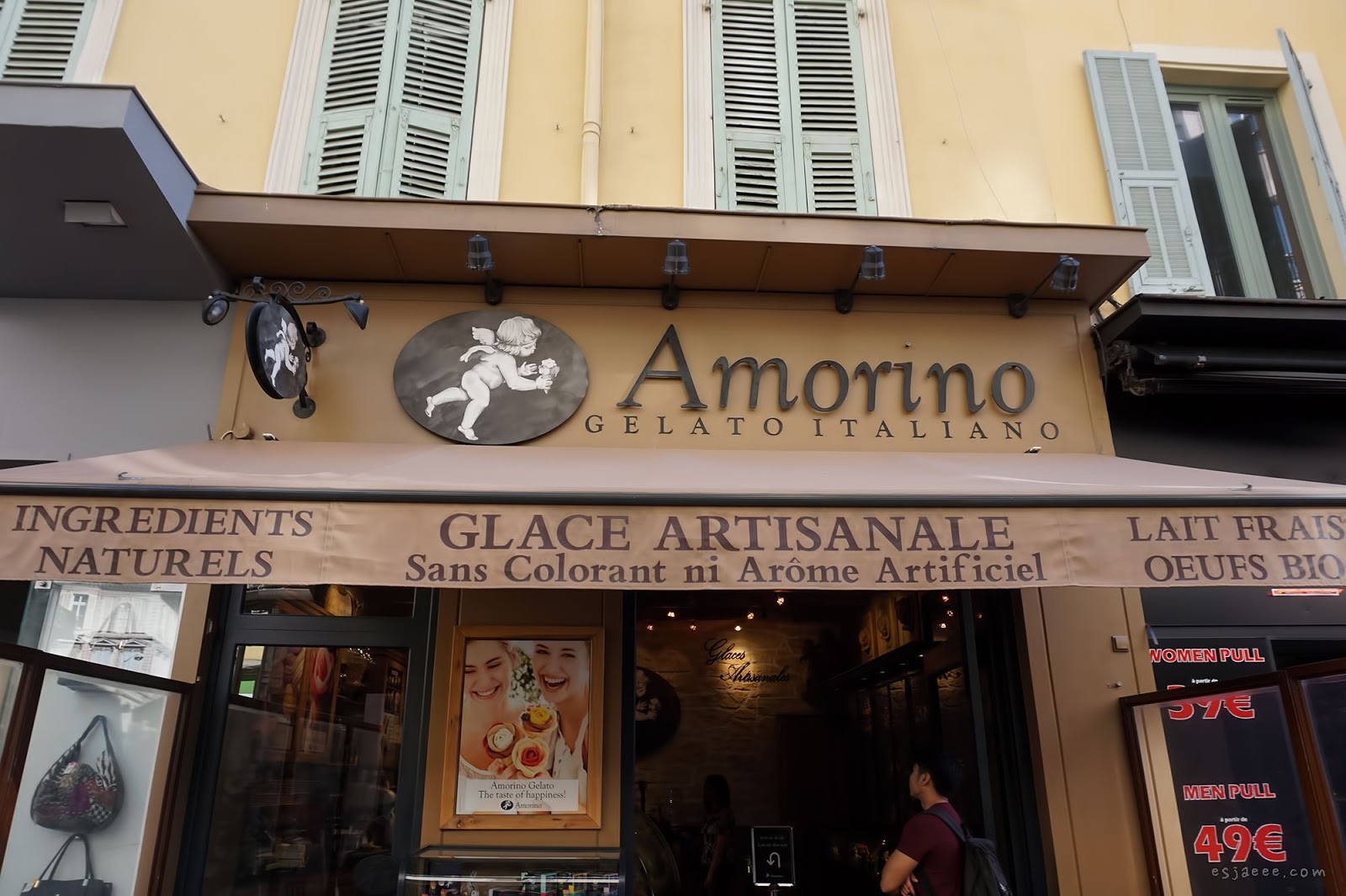 Amorino Gelateria in Nice