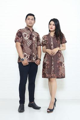 Baju pesta batik