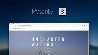 متصفح الانترنت Polarity 8.2 هو متصفح خفيف وسريع