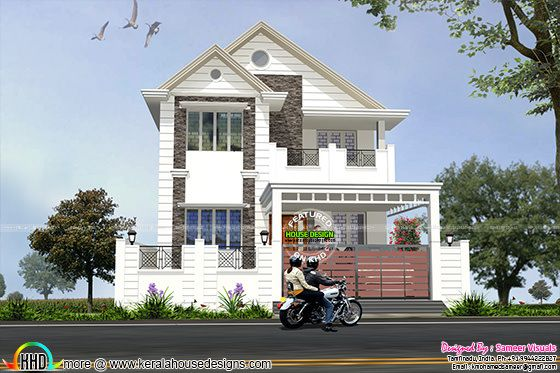 3456 square feet European touch home
