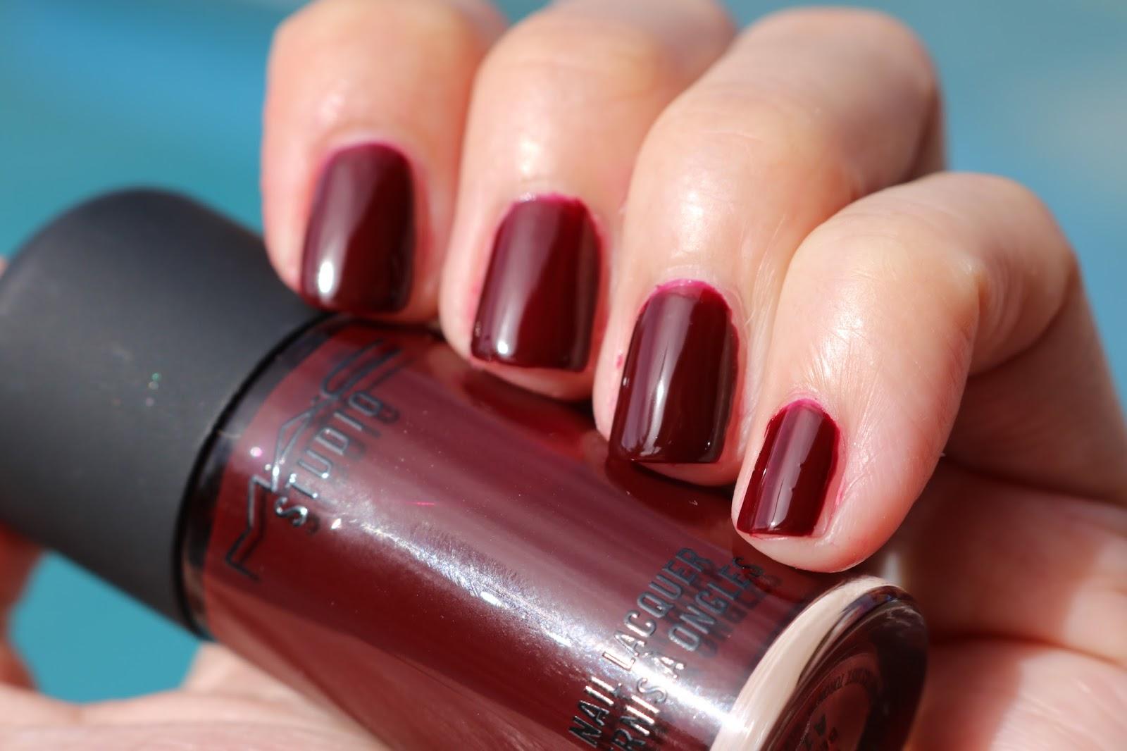 MAC Berlin nail lacquer