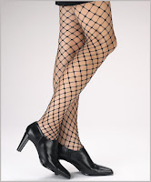 Women's Large Loop Fishnet Pantyhose