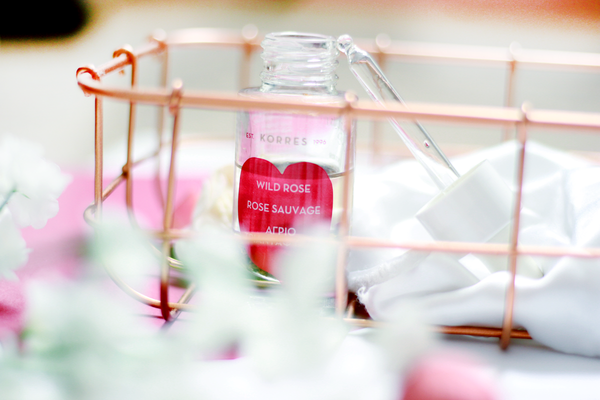 an image of KORRES Wild Rose Advanced Brightening & Nourishing Face Oil