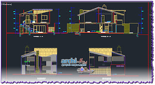 download-autocad-cad-dwg-file-house-frame-rustic-detaill