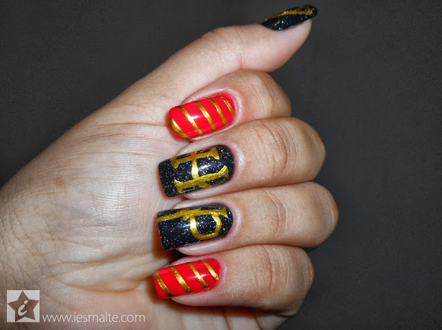 Unhas Decoradas - Harry Potter