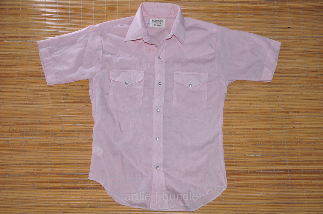 3634ce06 Vintage | Branded | Clothing: (BS6-0510) Vtg RUDDOCK Pearlsnap ...