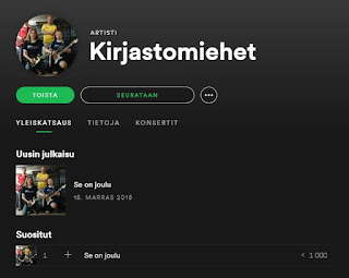 Kuuntele Se on joulu Spotifyssa!