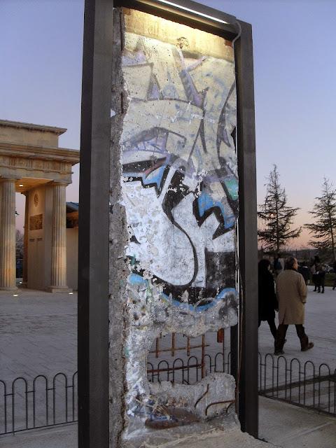 Muro de Berlín Parque Europa Torrejón Madrid