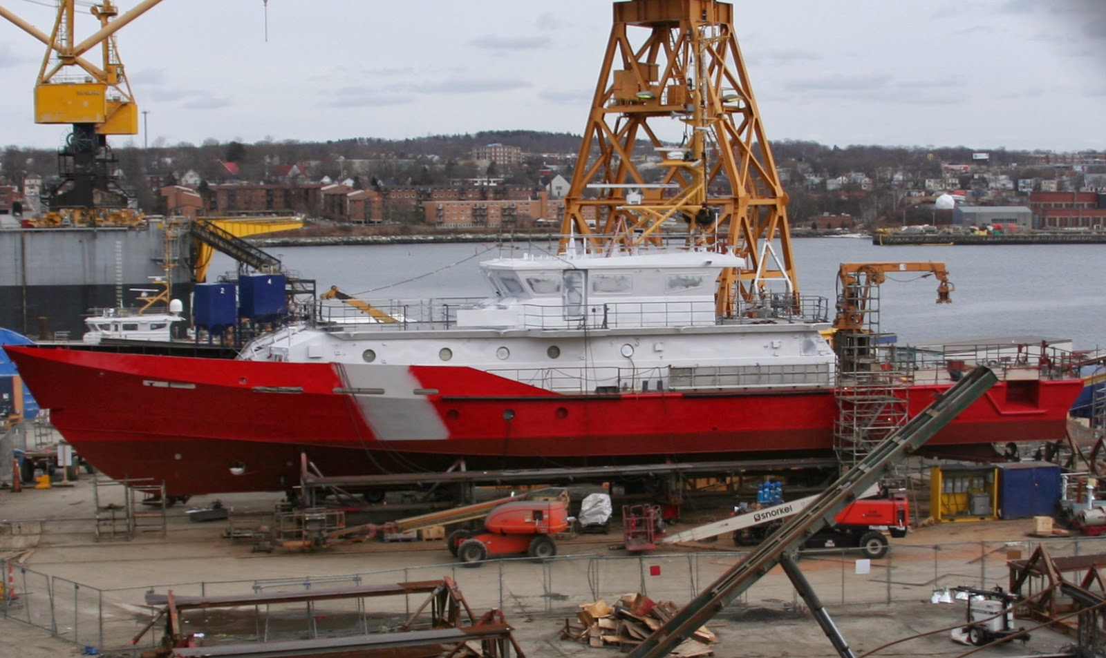 Msm cargo tracking - The Ccgs Captain Goddard M S M Was Rolled Out On Monday After The Launching Of The Ccgs M Charles Saturday Night With The Rollout Having Occurred