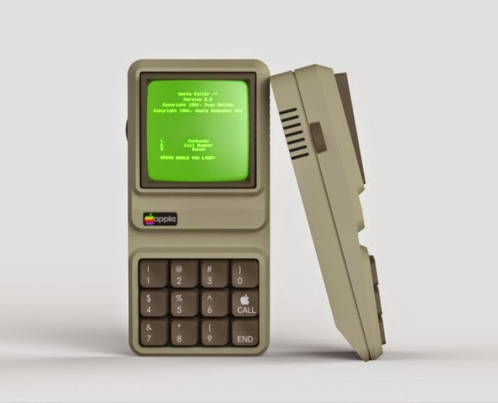 Apple IIe iPhone