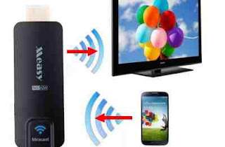 menghubungkan Android ke layar TV tanpa kabel / wireless
