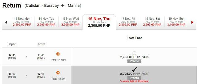 AirAsia in Caticlan Boracay Seat Sale Promo Fares