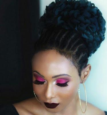 Stunning new photos of Nigerian transgender, Miss Sahhara