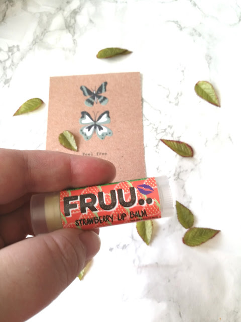 Fruu Fresh Strawberry Lip Balm