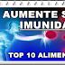 Top 10 alimentos para melhorar a imunidade
