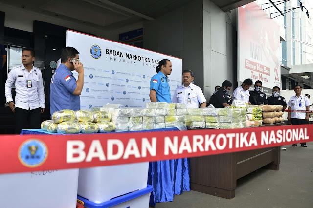 BNN: Narkoba Secara Perlahan Gerogoti Generasi Muda dan Penerus Bangsa Indonesia