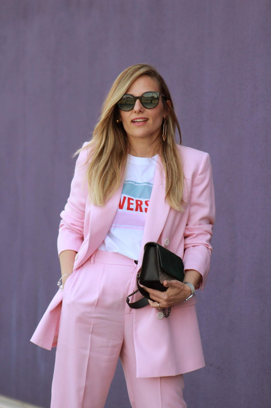 Eniwhere Fashion - Come indossare un blazer rosa