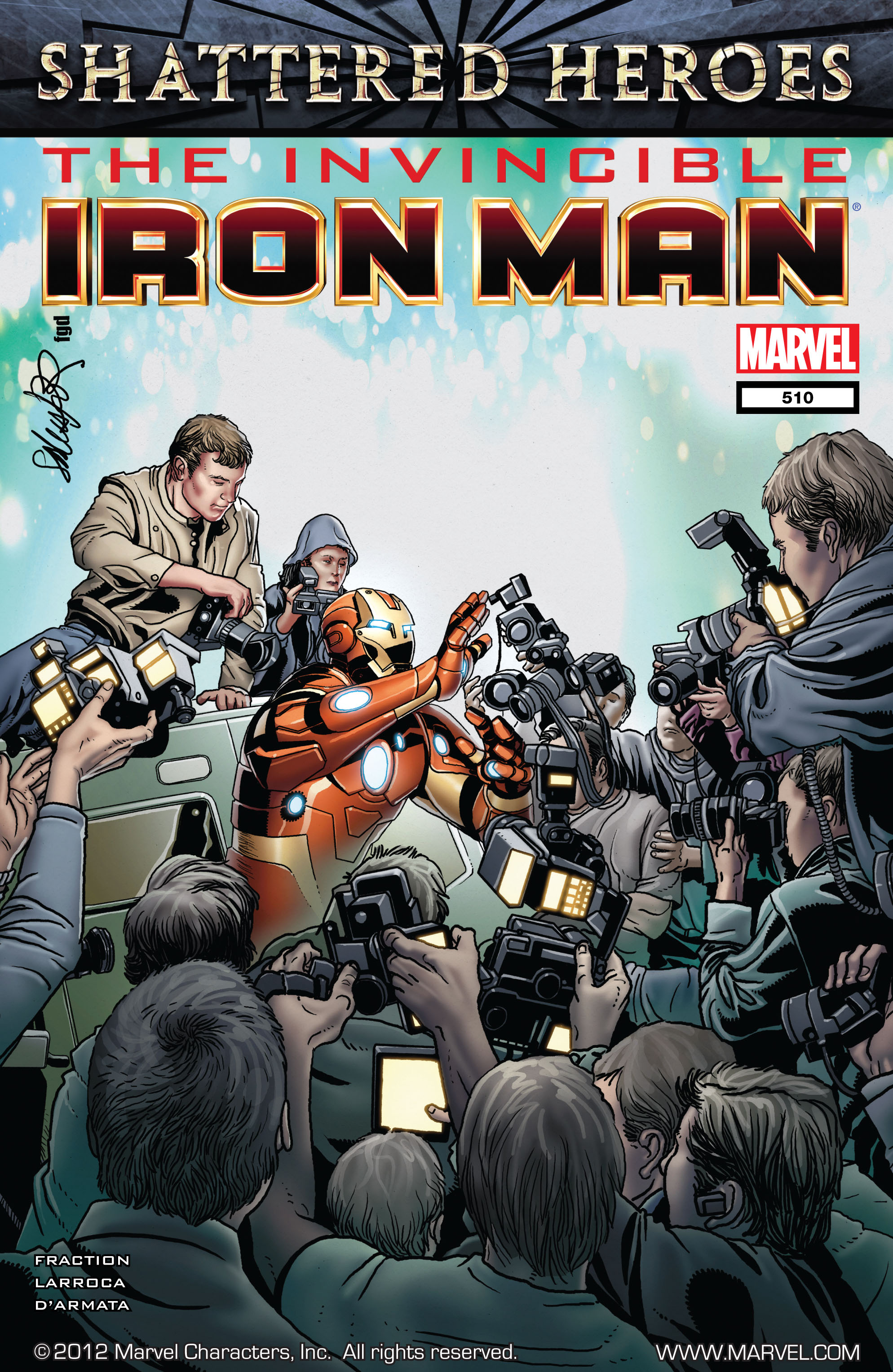 Invincible Iron Man (2008) 510 Page 1