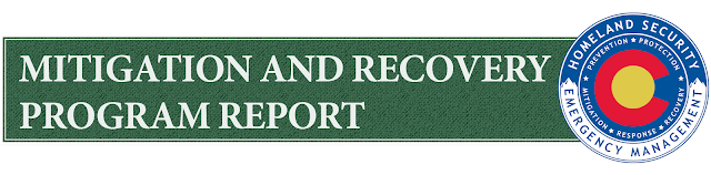 Mitigation and Recovery Program Report logo