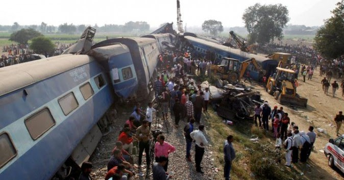 Incidente ferroviario in India, oltre 100 morti