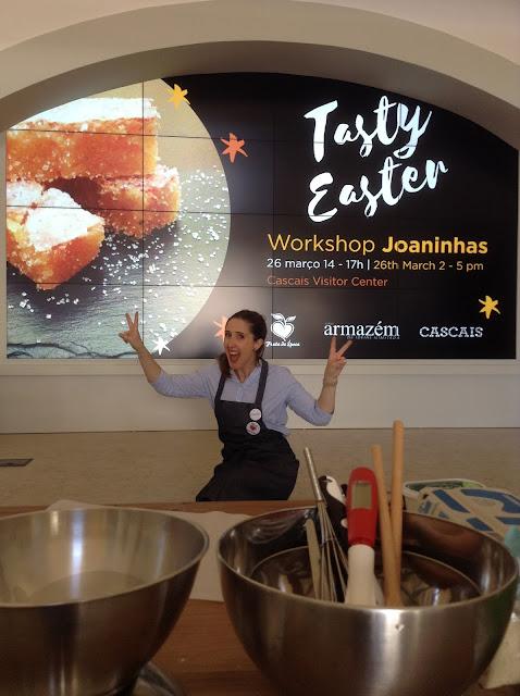 Pelo Cascais Visitor Centre a promover o património gastronómico de cascais