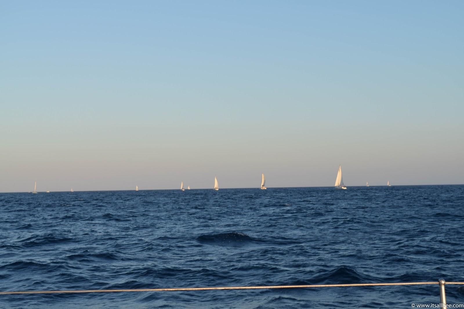 sailing tours santorini