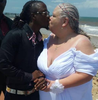 sierra leonean singer marries white lover