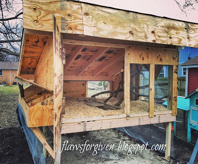 DIY Chicken Coop: Dancing Feathers Farm Chicken Palace Reveal!