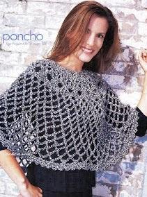 http://crochetenaccion.blogspot.com.es/2012/03/poncho-en-tejido-abierto.html