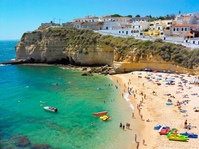 573762f5ad Turismo do Algarve  1001 Praias  Praia do Carvoeiro e Praia do Paraíso