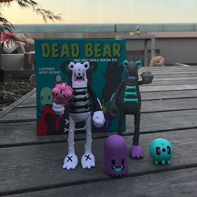 Five Points Festival Debut Dead Bear Vinyl Figures by Nicky Davis x Andrea Kang x Martian Toys