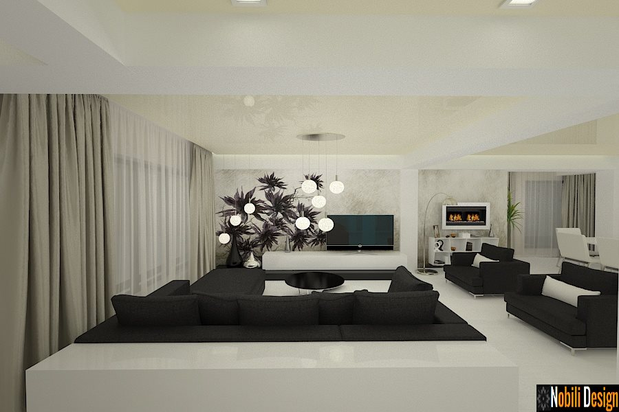 Amenajari interioare case moderne firma amenajari for Design casa moderna