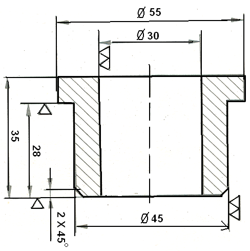 Basic Engineering Drawing - Conventions and Abbreviations