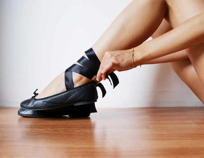 diy ballet flats ribbon francinesplace