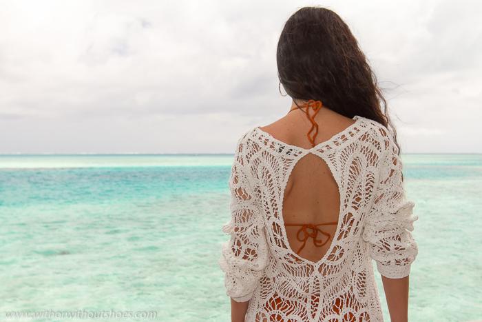 influencer blogger de moda en Maldivas
