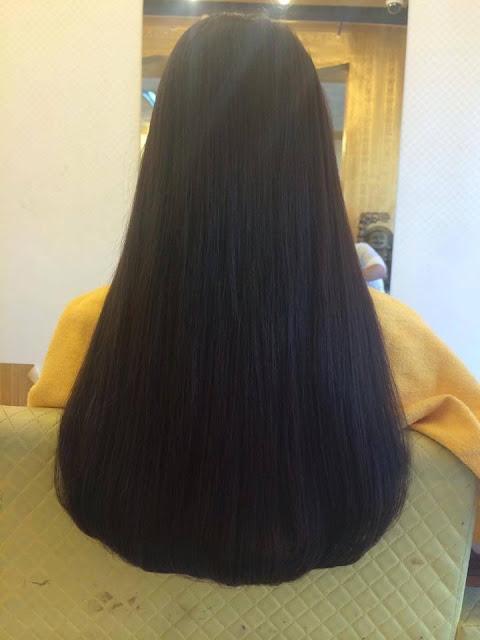 Tóc Nối 60cm bằng sợi Fiberglass, không sử dụng hóa chất