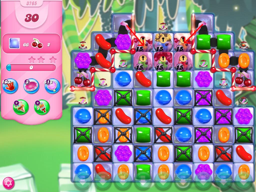 Candy Crush Saga level 3765