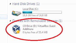 Cara Berbagi Folder Windows ke VirtualBox